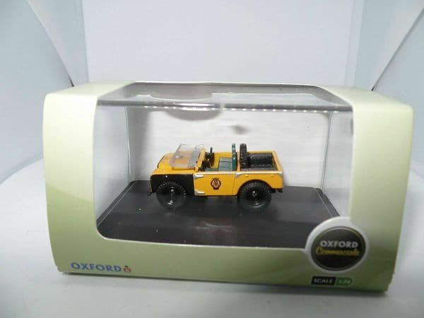 Oxford 76LAN180003 1/76 OO Scale Land Rover Series 1 80 Open Top AA Road Service